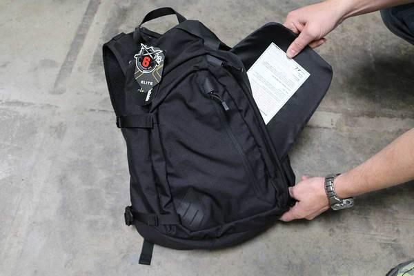 Sector sling bag ballistic insert